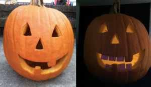 Pre and post Pumpkin Tooth Replacement