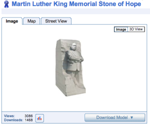 MLK Memorial Sketchup