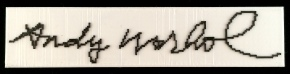 Andy Warhol's Signature