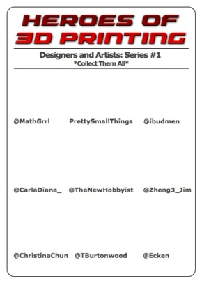 Mockup of Series #1 for the Gumball Gallery