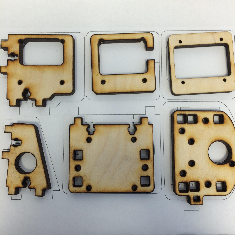 Laser Cutting Printrbot 3D Printers via Inkscape | Design Make Teach