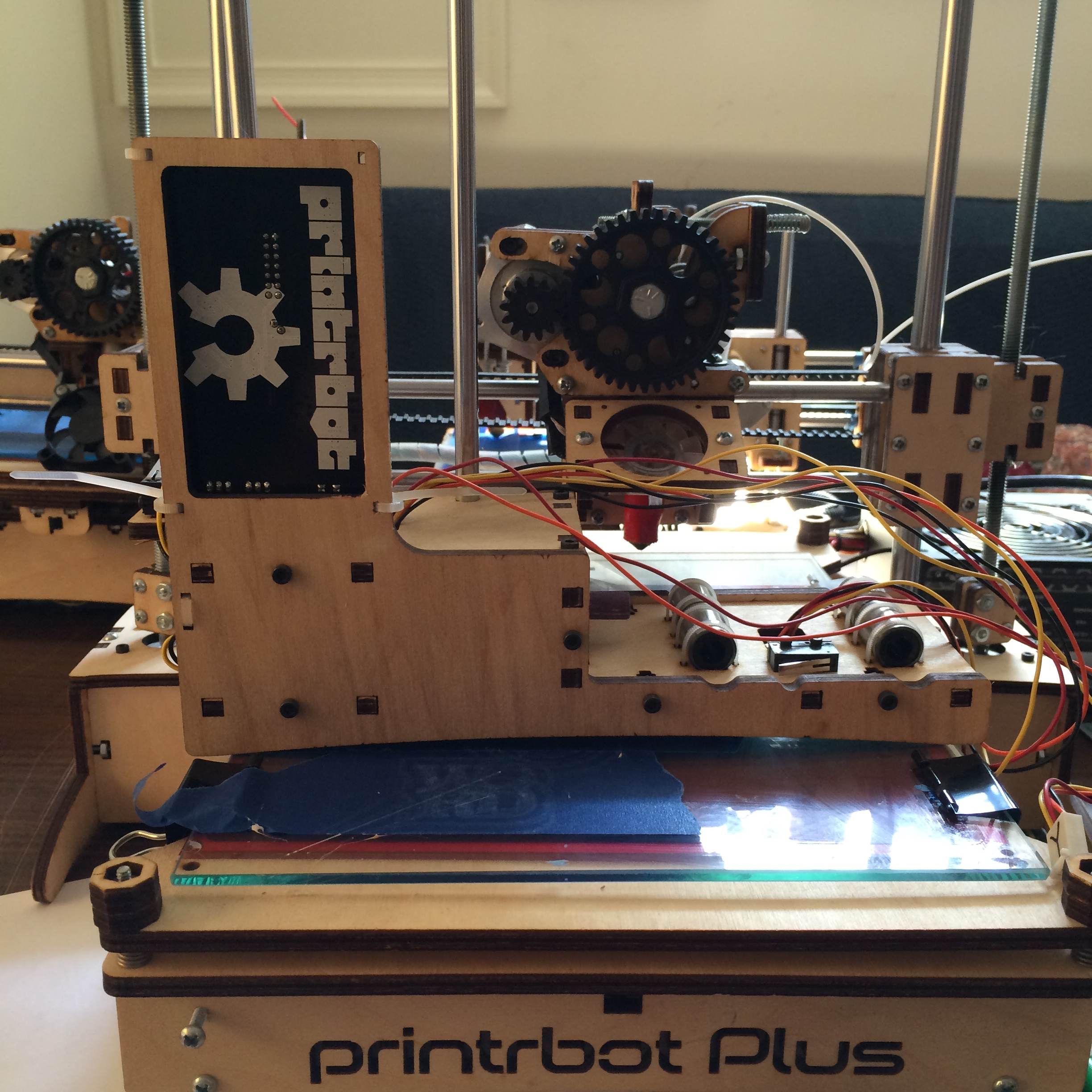 Laser cutting printrbot 3d printers via inkscape design for 3d printer build plans