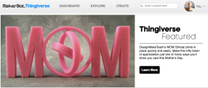 Thingiverse Featured
